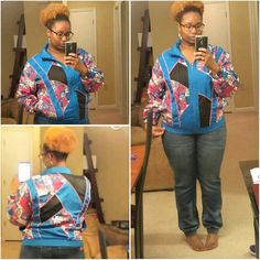 ...cute bright colored/floral #throwback jacket. ...cute bright colored/floral #throwback jacket. Size Large.. Jackets & Coats Vests