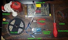 Proyectos Arduino: Panel LED Arduino, Panel Led, Blue Prints