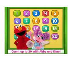 Help your child identify and count numbers from 1 to 20, do simple addition and subtraction, and trace numbers that also open surprises, such as Sesame Street videos, puzzles, and coloring pages. Along the way, everyone's favorite furry character, Elmo, and Abby Cadabby guide kids through learning math. (ages 5 and under, $2.99; iPad) -- Written by Cheryl Lock
