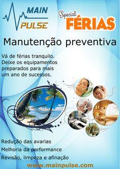 Manutenção preventiva equipamentos estética - Especial férias