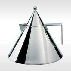 Alessi ketel Il Conico 90017 door Aldo Rossi