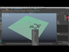 A very basic first look at what goals are in nParticles and how to add expressions into your system. In the video I add some goal geometry to an nParticle sy.