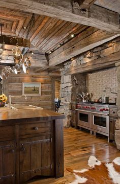 Well Structured #Rustic Kitchen     #rusticfurniture #rusticdeor http://www.santaferanch.com/