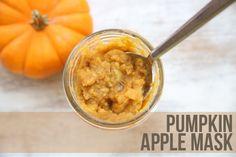 Pumpkin & apple mask