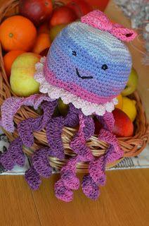 AE style svět: DIY: Háčkovaná chobotnička
