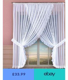 Curtains & Pelmets Home, Furniture & DIY Room Decor Bedroom, Living Room Decor, Priscilla Curtains, Pelmets, Voile Curtains, Decoration, Living Room Designs, Diy Home Decor, Babyshower