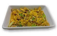 Kylling stegt med ingefær (Gai phat king)