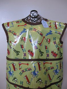 Children's Art Smock Size 46 made from by youresewcutekids on Etsy, $22.00