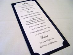 Tall Elegant Table Numbers  Textured Tented And Double Sided
