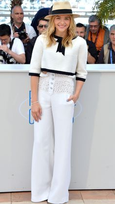 The Best of the 2014 Cannes Film Festival Red Carpet - Chloe Grace Moretz from #InStyle in Chanel