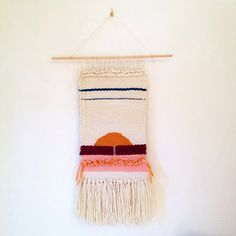 Handmade Weaving Commission / Wall Hanging by SecretCeremonyShop