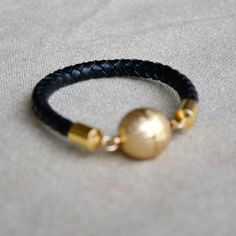 ORBITAL+braided+rope+bracelet+by+GOLDhearted+on+Etsy,+$38.00