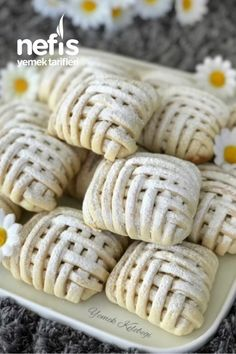 Nefis Elmalı Kurabiye – Nefis Yemek Tarifleri Creations, Sweets, Cookies, Desserts, Food, Allah, Pizza, Noodle, Biscuits