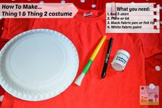 How To Make... Thing 1 and Thing 2 costume | Boo Roo and Tigger Too