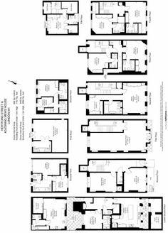 7 bedroom town house for sale in Hertford Street, Mayfair, London - Rightmove. Town House Floor Plan, House Plans, Flats For Sale, Planer, Townhouse, Property For Sale, Engineering, House Design, Flooring