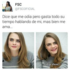 ILUSA Latinas Quotes, Hahaha Hahaha, Quotes About Haters, Fake Friends, Power Girl, Spanish Quotes, Girl Humor, Wallpaper Quotes, Funny Jokes