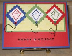 VSN Soaring Kites smadson by smadson - Cards and Paper Crafts at Splitcoaststampers
