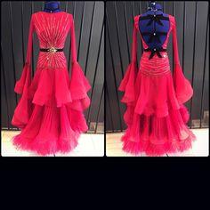 "521 Likes, 3 Comments - DLK_United Design (@dlk_united_design) on Instagram: ""Cherry sweetness Unique and impressive ballroom dress created by DLK United Design…"""