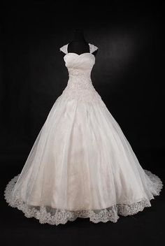 Im going to cry...this is my wedding dress...everything i want if only aline