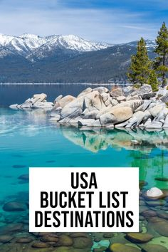 The most EPIC bucket list for the USA! Planning a trip and looking for the best USA bucket list destinations? This comprehensive list has some of the top things to see, do and eat across America. Us Travel Destinations, Bucket List Destinations, Beautiful Places To Travel, Cool Places To Visit, Places To Go, Romantic Travel, Beautiful Places In America, Beautiful Beaches, Usa Travel Guide