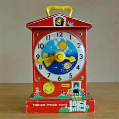 still have mine from the [retro fisher price teaching clock] 90s Childhood, Childhood Memories, Vintage Baby Toys, Teaching Clock, 70s Toys, Nostalgia, Barbie Toys, Vintage Fisher Price, Great Memories