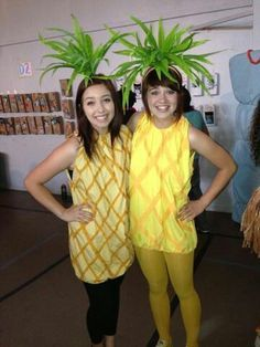 Ananas Kostüm selber machen   Kostüm Idee zu Karneval, Halloween & Fasching