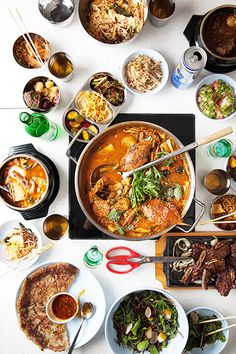 10 Reasons Why Koreatown Is The BEST Right Now #refinery29  http://www.refinery29.com/koreatown-los-angeles-guide#slide7  Pot  Chef Roy Choi's latest L.A. restaurant is a true homage to Los Angeles' Koreatown. If you're not afraid of a little spice, we recommend ordering the Redondo Beach.  Pot, 3515 Wilshire Boulevard (near South Ardmore Avenue); 213-368-3030.