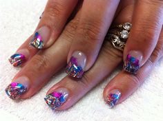 Nail Art Designs 2014 Ideas Images Tutorial Step by Step Flowers Pics Photos Wallpapers: Nail Art Foil Nail Art Designs 2014 Ideas Images Tutorial Step By Step Flowers Pics Photos Wallpapers