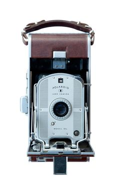 Polariod land camera, by Typography Photography
