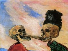 The theatrical, the satirical and the macabre come together in arresting fashion in the art of James Ensor. Curated by Luc Tuymans, this exhibition presents a truly original body of work, seen through the eyes… Museum Of Modern Art, Museum Of Fine Arts, Art Museum, James Ensor, Luc Tuymans, Dance Of Death, Danse Macabre, Royal Academy Of Arts, Arte Horror
