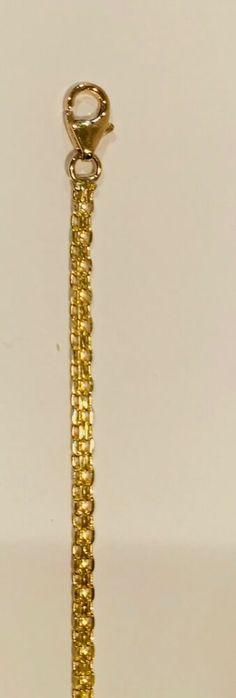 "7 1/4"" 14k Yellow Gold Bismark Bracelet #GoldcoreJewelers 14k Bracelet, Beaded Bracelets, Jewels, Yellow, Gold, Ebay, Jewerly, Pearl Bracelets, Gemstones"