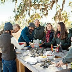 Award-winning Charleston chef Mike Lata proves it's never too chilly for a party, especially with oysters at their peak. We'll tell you everything you need to know-from roasting to recipes-to host your own.