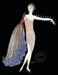 erte art | Erte Art Prints, Posters, Paintings