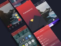 Pixomatic [Available in the App Store] by Alexander Zaytsev #Design Popular #Dribbble #shots