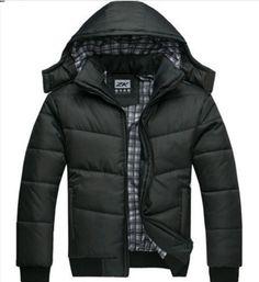 Men's Down Cotton-Padded Winter Jacket