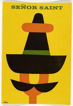 Charteris, Leslie [Se�or Saint / Zwarte Beertjes 519], Dick Bruna, 1962