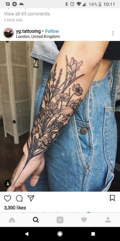 So beautiful! I probably wouldn't get such a large piece there, but so beautiful nevertheless. #beautytatoos