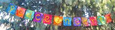 Peace+on+Earth+Flags+for+Yule+Christmas+Garland+by+ArtToGo+on+Etsy,+$15.00