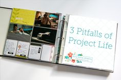 Project Life has dark side, the elephant in the room no one talks about. Three pitfalls & traps people fall into with Project Life avoided in scrapbooking. #projectlife #scrapbookinginsight