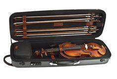 Rectangular Violin Cases Violin Case GL COMBI QARBONIA | Carbon fiber violins | QARBONIA
