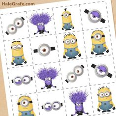 There is nothing better than a minion themed party for the despicable me fans! Read on simple tips how to get creative and obtain the perfect minion party items for your kids! 20 different ideas to make any minion party a success. Minion Party Theme, Minion Birthday, Boy Birthday, Minion Party Games, Birthday Ideas, Happy Birthday, Despicable Me 2 Minions, Evil Minions, Funny Minion