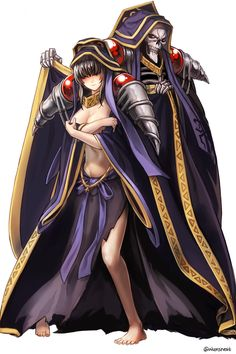 Overlord - Narberal Gamma & Ainz Ooal Gown