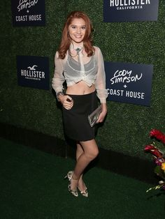 Serena Laurel Photos Photos - Actress Serena Laurel attends Hollister's Holiday Carnival with Coast House at The Roxy Theatre on December 9, 2015 in West Hollywood, California. - Hollister's Holiday Carnival with Coast House