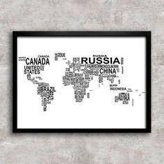 Poster Mapa Nomes Países - Encadreé Posters. Encontre a arte perfeita para sua decoração na Encadreé Posters.  Palavras-chave: parede decorada, parede de quadros, posters, quadros, decor, decoração, presentes criativos, arte, ilustração, decoração de interiores, decoração criativa, quadros decorativos, posters com moldura, quadros modernos, decoração moderna, quadros tumblr,
