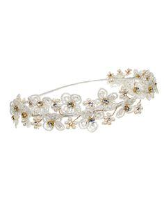 Hannah Headband | Kirsten Kuehn || handmade crystal bridal sashes & embellished accessories