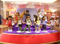 American Girl Place in Chicago...a great mommy-daughter trip when she is older.