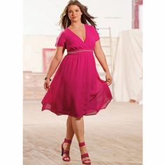 Robe en voile, Taillissime   sexy plus size dress. summer
