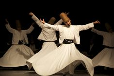 Whirling dervish ceremony in Galata, Istanbul | Stay with us at www.istanbulplace.com holiday apartments and you can experience an authentic sema ceremony in a beautiful historic building very nearby | #Istanbul