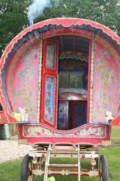 I am just so intriqued by these gypsy caravans