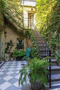 Home Decorators Collection Rugs Info: 1414178267 Small Balcony Decor, Casa Patio, Small Backyard Gardens, Spanish Style Homes, Dream Garden, Future House, Interior And Exterior, House Styles, Outdoor Decor